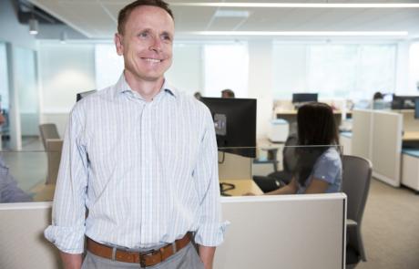 Candid headshot of Govplace CEO Adam Robinson